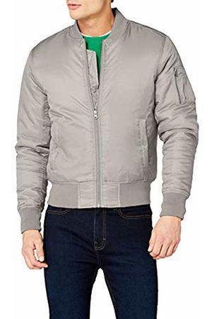 Urban classics Men's Basic Bomber Jacket, -Grau (h. 138)