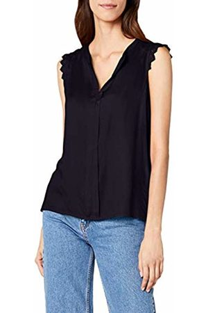 ONLY NOS Women's Onlkimmi S/l Top WVN Noos Plain Not Applicable Sleeveless Vest, (Night Sky)