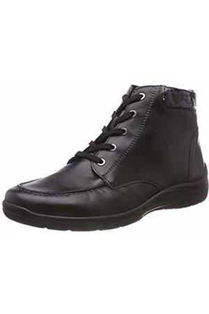Waldläufer Women's Hesna Ankle Boots, (Memphis Ninja Schwarz Stahl 492)