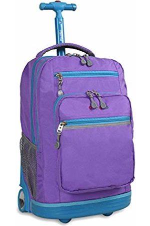 J World New York Sundance Rolling Backpack Casual Daypack, 20 cm