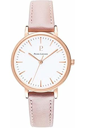 Pierre Lannier Womens Analogue Quartz Watch with Leather Strap 090G905