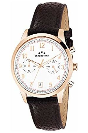 Chronostar Mens Multi dial Quartz Watch with Leather Strap R3751269001