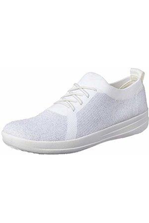 f8c85b6a2813 FitFlop Fit Flop Women s F-Sporty Tm Überknit Sneakers Trainers Metallic   Urban 567