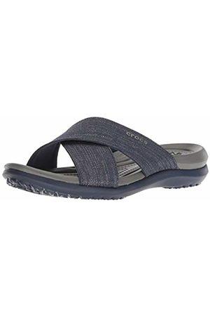 Crocs Women's Capri Shimmer Xband Sandal Women Heels Sandals