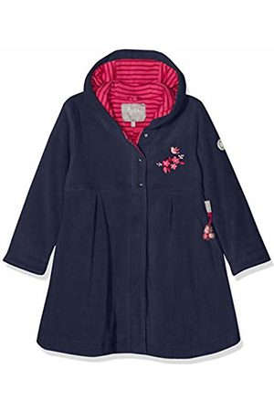 sigikid Girl's Fleece Mantel, Mini Coat, (Blau (Mood Indigo 275)
