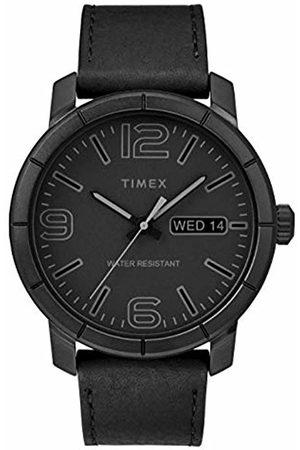 Timex Men's Mod44 44 mm Leather Strap Watch TW2R64300