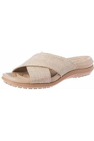 Crocs Women Sandals - Women's Capri Shimmer Xband Sandal Women Heels Sandals