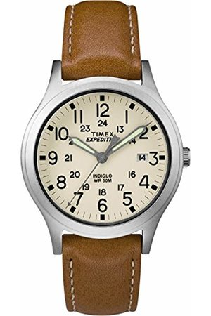 Timex Unisex Adult Analogue Classic Quartz Watch with Leather Strap TW4B11000
