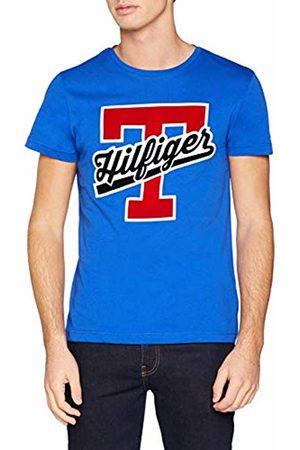 Tommy Hilfiger Men's T-Script Logo Tee T-Shirt