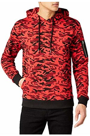 Urban classics Men's Sweat Bomber Hoody Sports, Multicoloured-Mehrfarbig ( camo 783)
