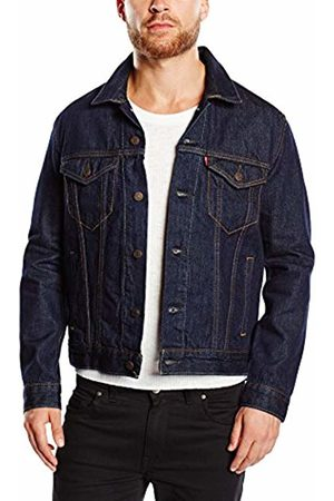 Levi's Men's The Trucker Denim Long Sleeve Jacket, Blue (Rinse)