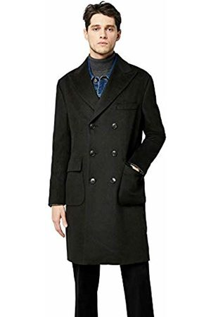 find. Wool Mix Double Breasted Smart Coat, (Forest )