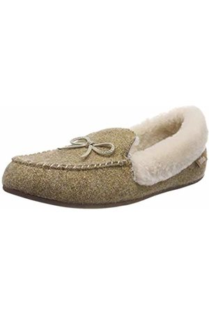 4765870bb4ab55 FitFlop Women s Clara GLIMMERWOOL Moccasin Low-Top Slippers
