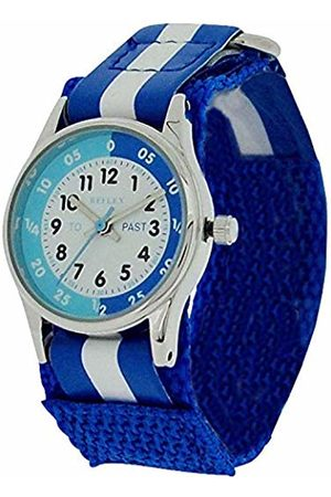 Reflex Unisex Child Analogue Classic Quartz Watch with Textile Strap REFK0001