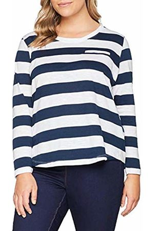 Simply Be Women's Long Sleeve Block Stripe Top T-Shirt