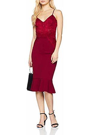Quiz Women's Party Dress, (Berry)