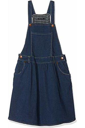Marc O' Polo Girl's Jeans Latzrock Skirt, (Dark Denim 0012)