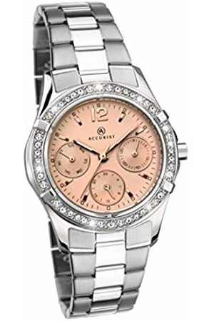 Accurist Womens Multi dial Quartz Watch with Stainless Steel Strap 8202.01