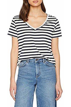 JDY Women's cloud S/s V-Neck Top JRS Noos T-Shirt