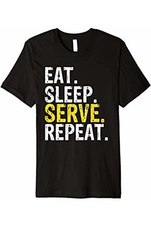 Eat Sleep Serve Repeat Tee Shirts Eat Sleep Serve Repeat Sports Game Gift T-Shirt
