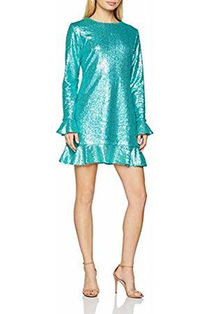 Glamorous Women's Ladies Sequin Party Dress, (Aqua Bs)