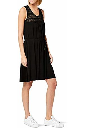Berydale Women's Dress Made of Flowing Soft Jersey with Lace Insert