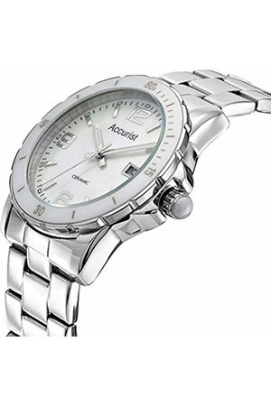 Accurist Womens Analogue Classic Quartz Watch with Stainless Steel Strap LB1781.01