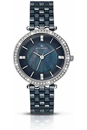 Accurist Womens Analogue Classic Quartz Watch with Ceramic Strap 8162.01