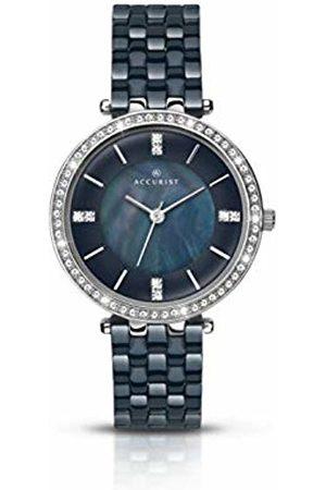 Accurist Womens Analogue Classic Quartz Watch with Ceramic Strap 8162.01