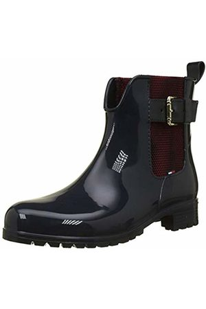 Tommy Hilfiger Women's Cool Tommy Ribbon Rainboot Wellington Boots