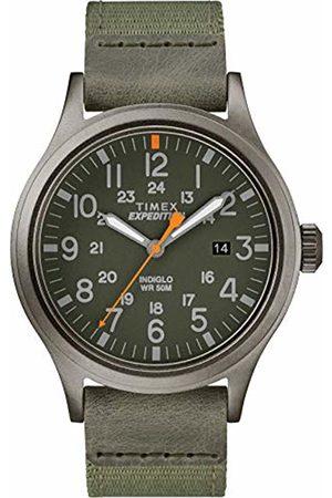 Timex Mens Analogue Classic Quartz Watch with Textile Strap TW4B14000