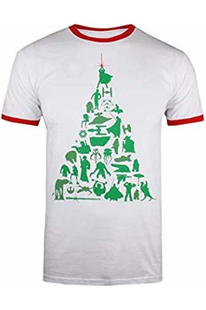 Star Wars Men's Tree T-Shirt, ( / WHR)