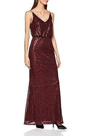 Adrianna Papell Women's AP1E203273 Party Dress, (Deep Wine)