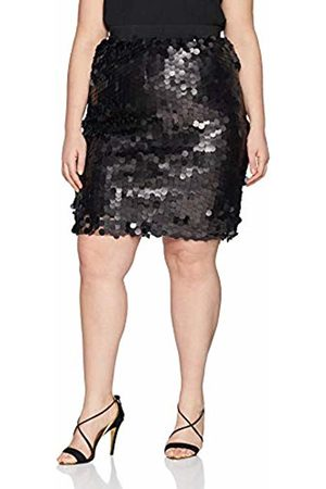 Simply Be Women's Large Disk Sequin Pencil Skirt