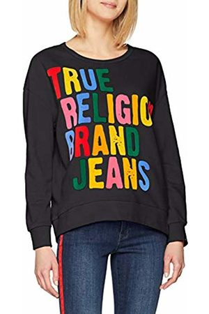 True Religion Women's Sweat Shirt Sweatshirt, ( 1001)