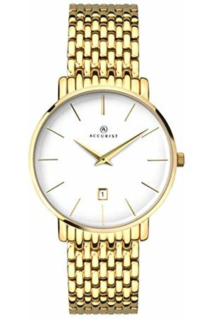 Accurist Mens Analogue Classic Quartz Watch with Stainless Steel Strap 7160.01