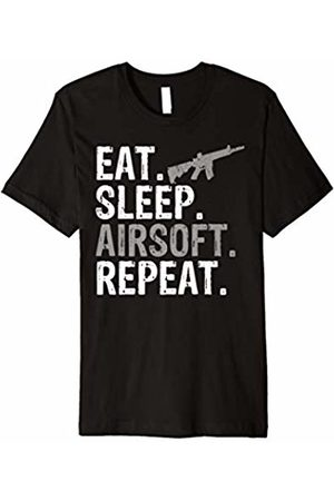 Eat Sleep Airsoft Repeat Tee Shirts Co. Eat Sleep Airsoft Repeat Sports Gift T-Shirt