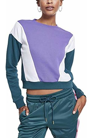 Urban Classic Women's Ladies 3-Tone Arrow Crew Sweatshirt