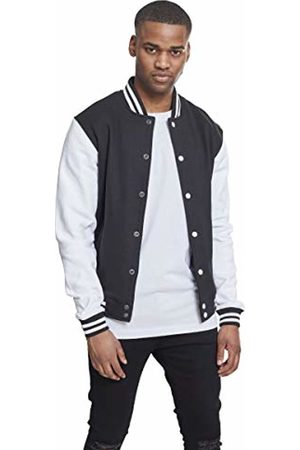 Urban classics Men's 2-Tone College Sweatjacket Jacket