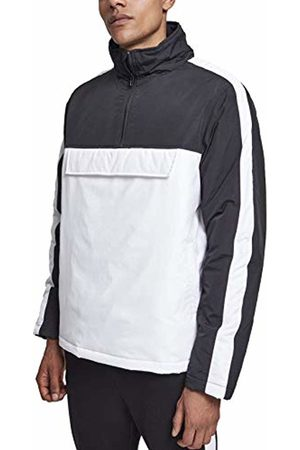 Urban classics Men's 2-Tone Padded Pull Over Jacket