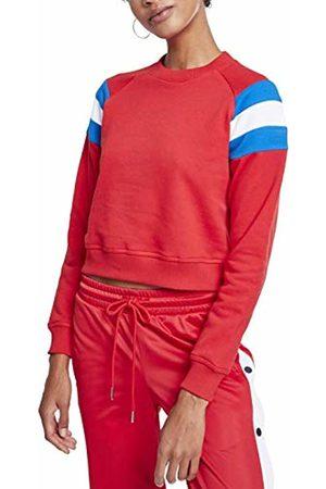 Urban classics Women's Ladies Sleeve Stripe Crew Sweatshirt