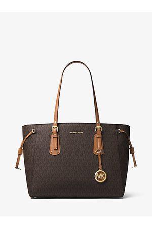 Michael Kors Women Shopper & Tote Bags - Voyager Medium Logo Tote Bag