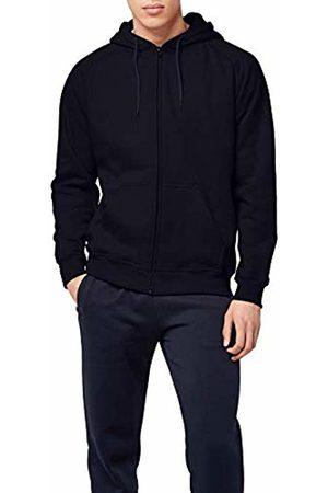 Urban classics S Men's Zip Hoody Video Games Hooded Sweatshirt, Multicoloured, Blau (navy 155)