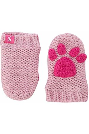 Joules Baby Girls' Paws Mittens, (Dusk Duskpnk)