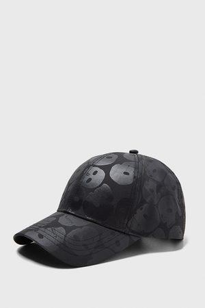 Zara SKULL PRINT PEAK CAP