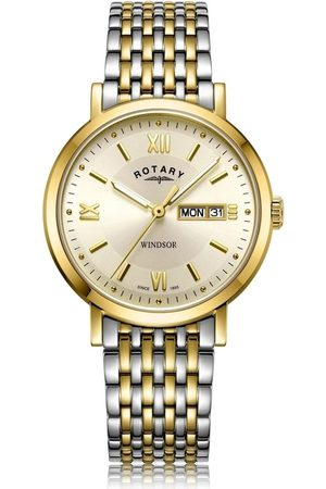 Rotary Watches Two Tone Windsor Gents Watch
