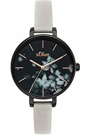 s.Oliver Womens Analogue Quartz Watch with PU Strap SO-3590-LQ