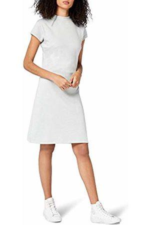 Intimuse Women's Knee-Length Plain Body Con Short Sleeve Dress
