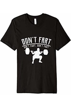 Funny Fitness Tee | Workout Shirts | Gym Tee Mens Don't Fart Workout Shirt, Fitness Tee