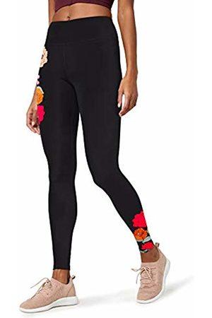 AURIQUE Floral Print Legging Sports Tights